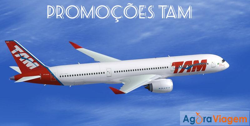 Promoções de passagens aéreas TAM