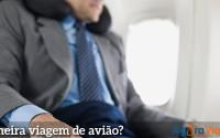Saiba o que fazer para perder o medo de andar de avião
