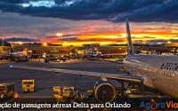 Promoção de passagens aéreas para Orlando a partir de R$ 1.229 ida e volta!