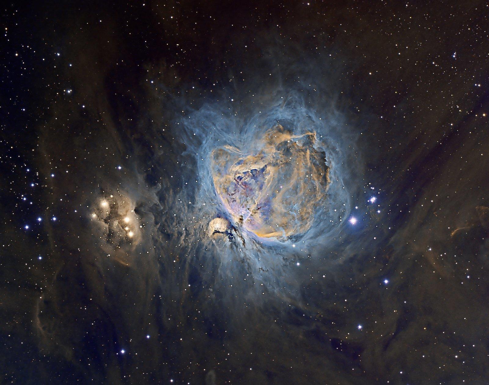 Nebulosa de Orion / Patrick Gilliland