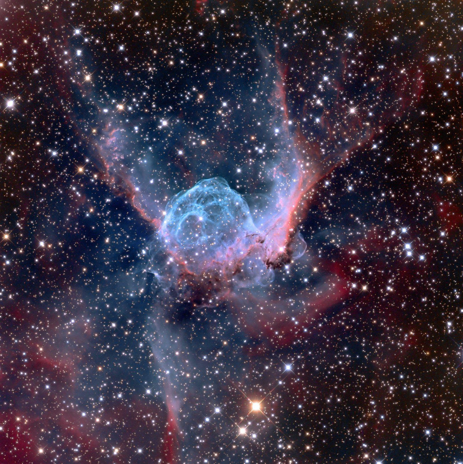 Thor's Helmet (NGC 2359) / Adam Block